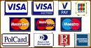 Akceptujemy płatności kartami płatniczymi i kredytowymi